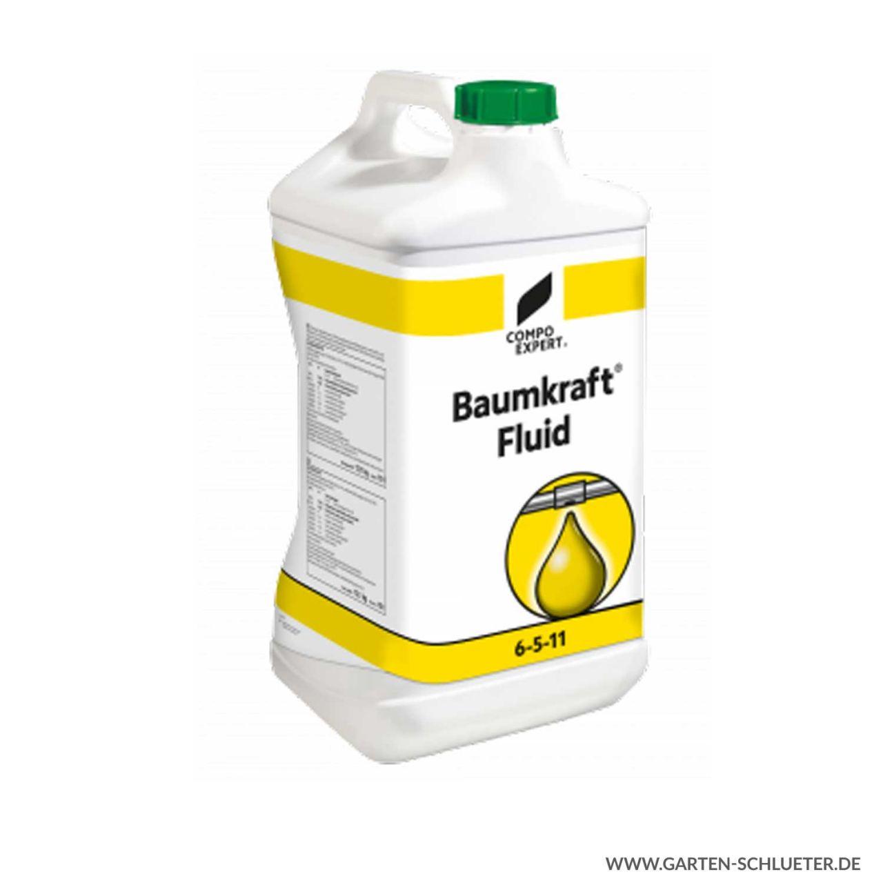 Flüssig Kaliumdünger - Compo Expert® Baumkraft® Fluid 6-5-11 - 10 Liter