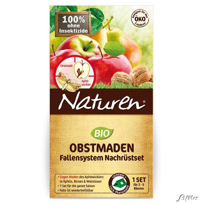 SUBSTRAL Celaflor Naturen® - Obstmaden-Falle Nachfüllset