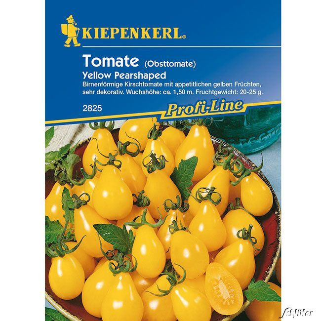 Cherry-Tomate 'Yellow Pearshaped'
