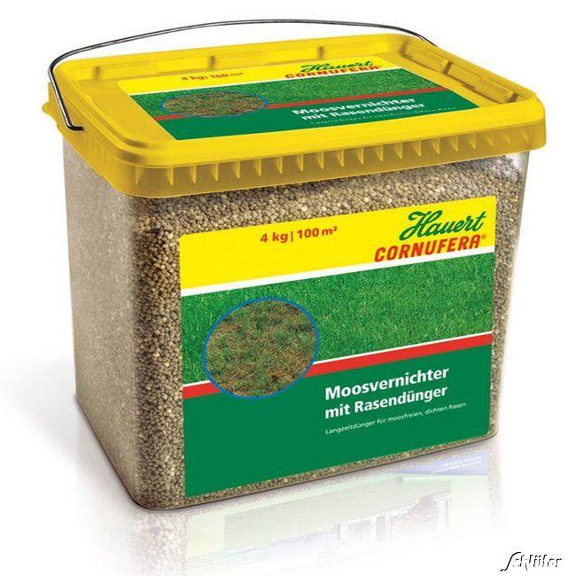 Cornufera® Moosvernichter mit Rasendünger - 4 kg
