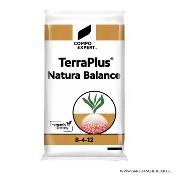 Rein organischer Dünger - Compo Expert® TerraPlus® Natura Balance 8-4-12 - 25 kg  Bild