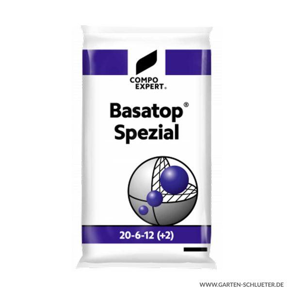 Stickstoffbetonter Langzeit Rasenvolldünger - Compo Expert® Basatop® Spezial 20-6-12 (+2+7) - 25 kg  Bild