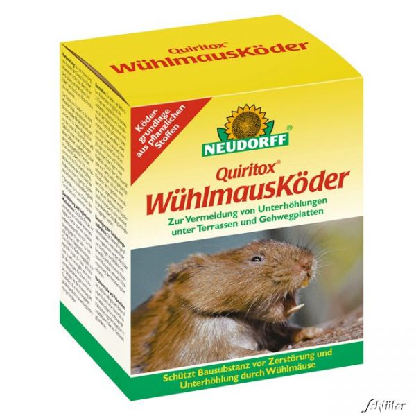 'Quiritox® WühlmausKöder' 150 g - Neudorff Bild