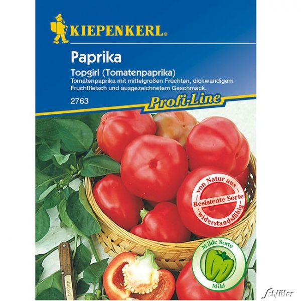 Paprika 'Topgirl' capsicum annuum Bild