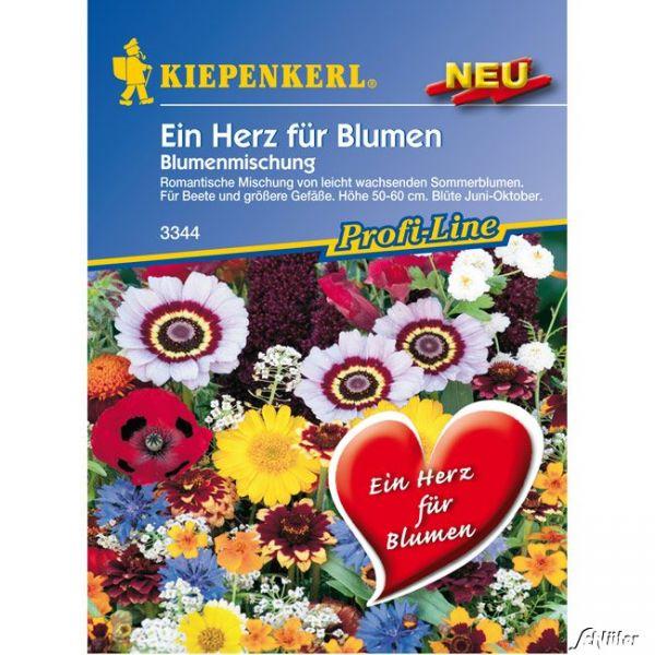 Blumenmischung 'Ein Herz für Blumen' Mischung Bild