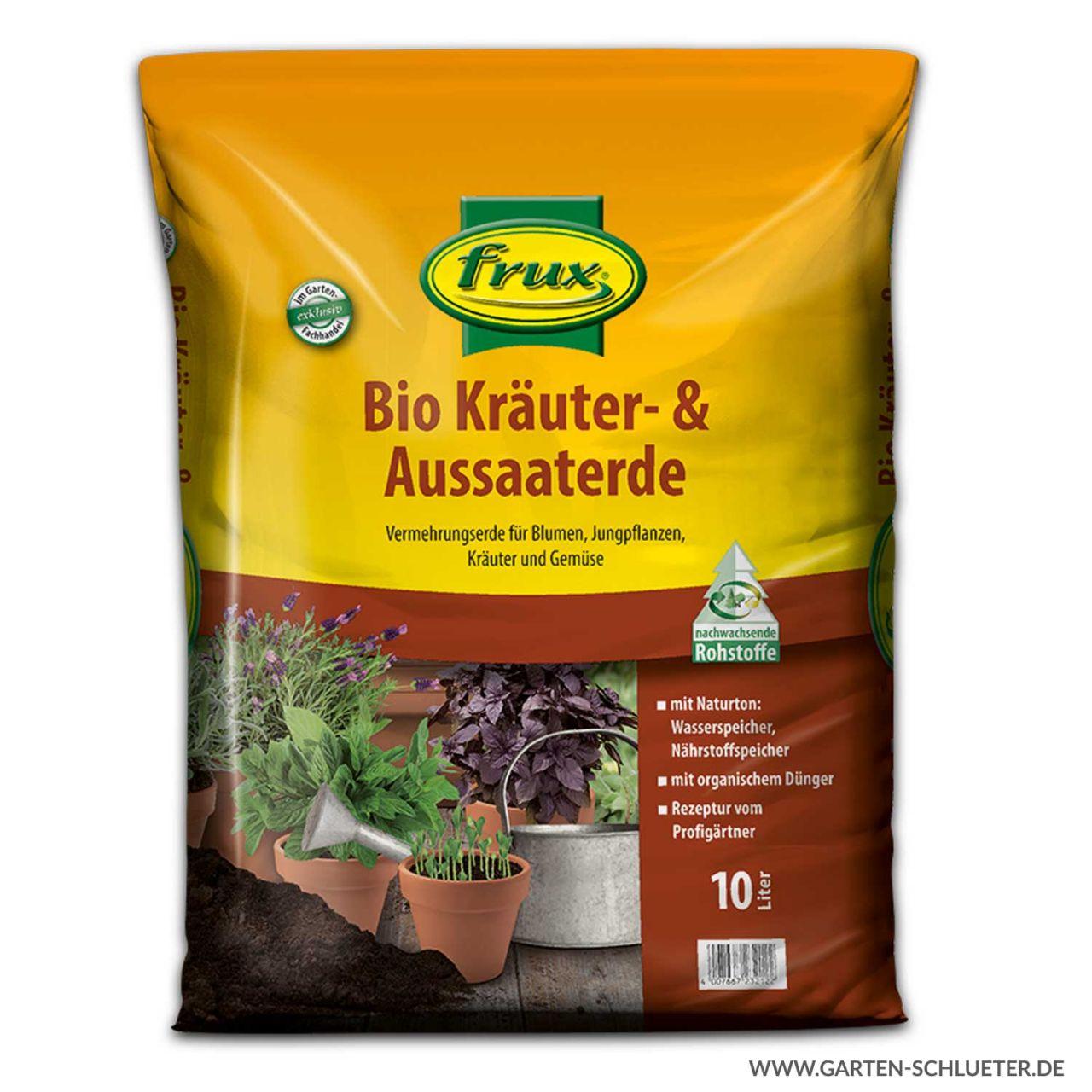 Frux - Kräuter & Aussaat & Pikiererde 10 Liter