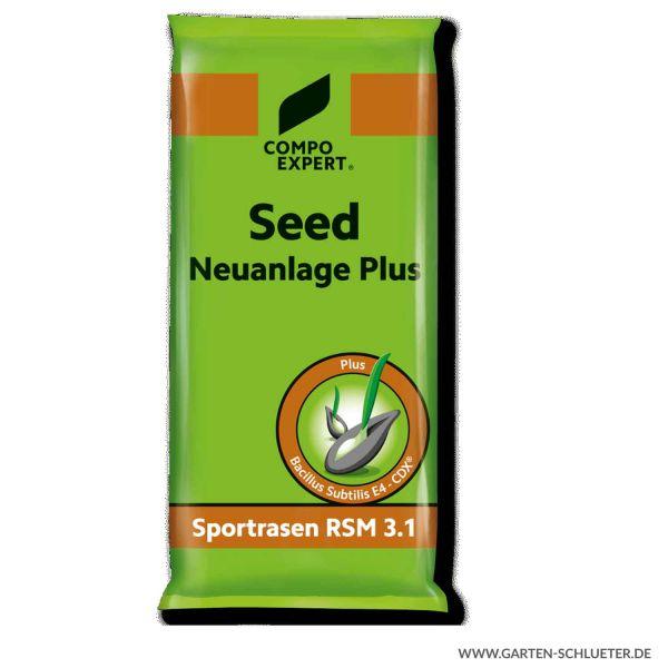 Rasensamen Sportrasen - Compo Expert® Seed Neuanlage Plus RSM 3.1 - 10 kg  Bild