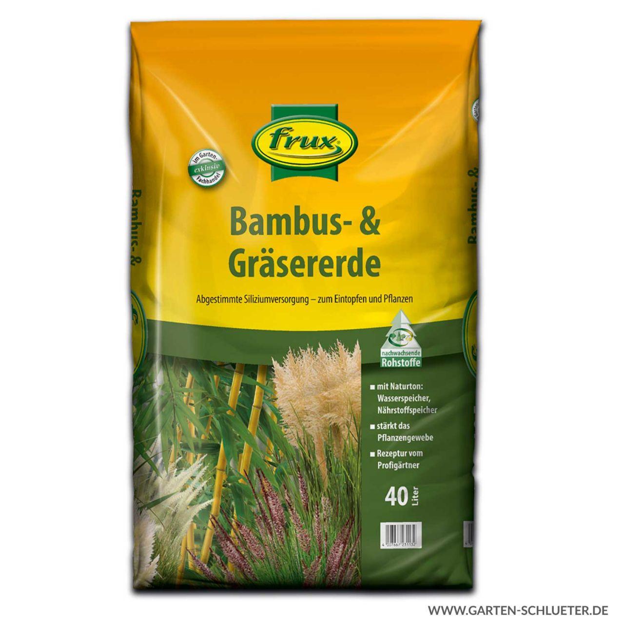 Pflanzsubstrat für Gräser und Bambus