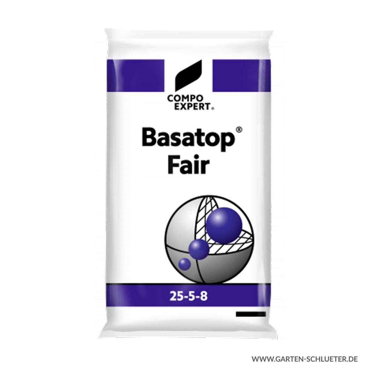 Umhüllter Langzeit Rasenvolldünger - Compo Expert® Basatop® Fair 25-5-8 (+3) ...