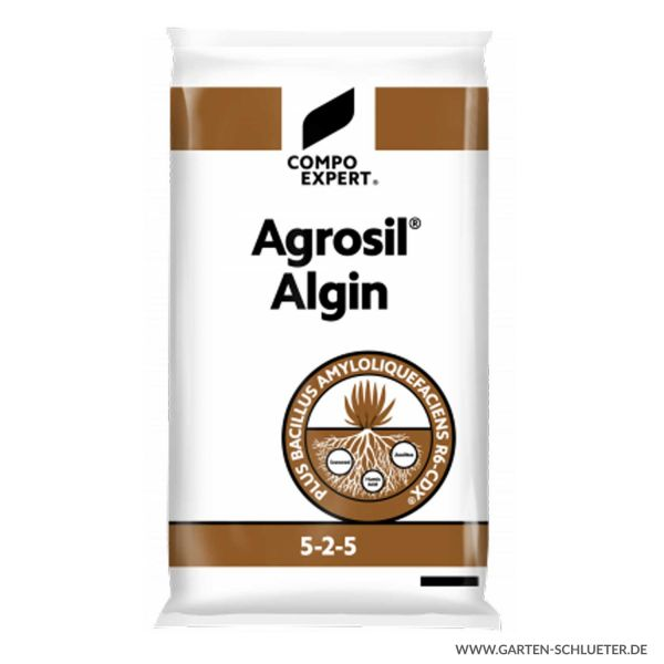 Spezialdünger und Bodenaktivator - Compo Expert® Agrosil® Algin 5-2-5 - 25 kg  Bild