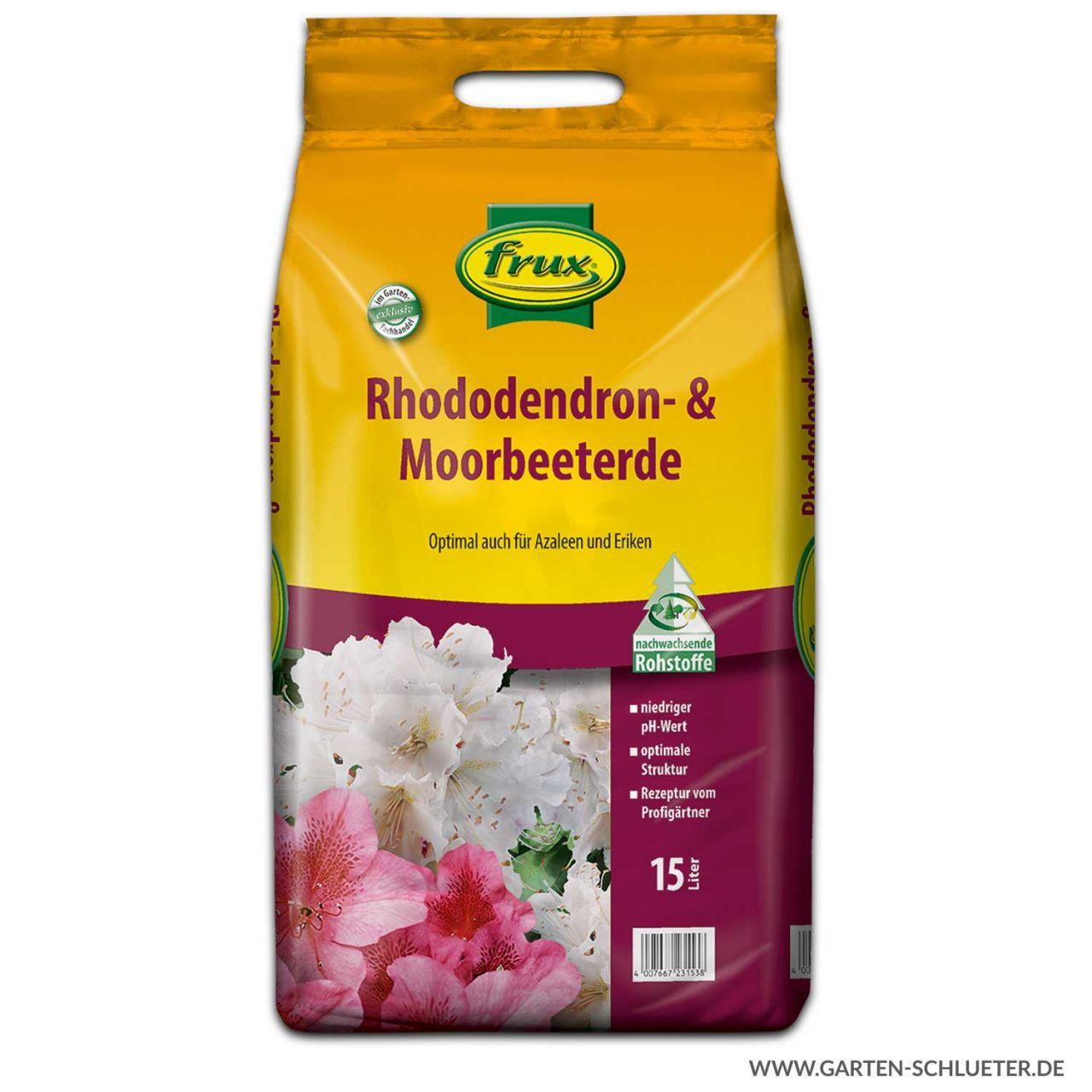 frux - Rhododendron- & Moorbeeterde 15l