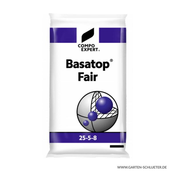 Umhüllter Langzeit Rasenvolldünger - Compo Expert® Basatop® Fair 25-5-8 (+3) - 25 kg  Bild