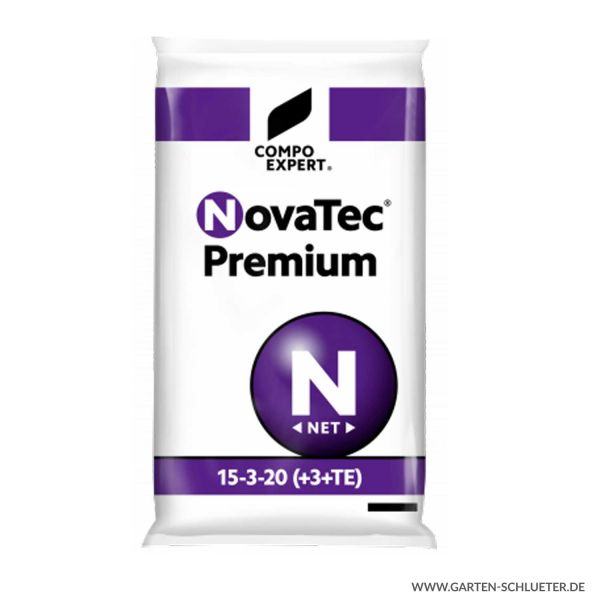 Kalistarker Spezial-Mineraldünger - stark phosphatreduziert - Compo Expert® NovaTec® Premium 15-3-20  Bild