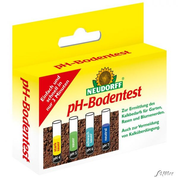 Neudorff pH-Bodentest Bodenproben-Set Bild
