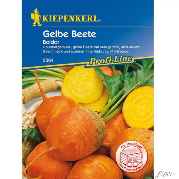 Gelbe Rote Beete 'Boldor F1' Beta vulgaris var. vulgaris Bild