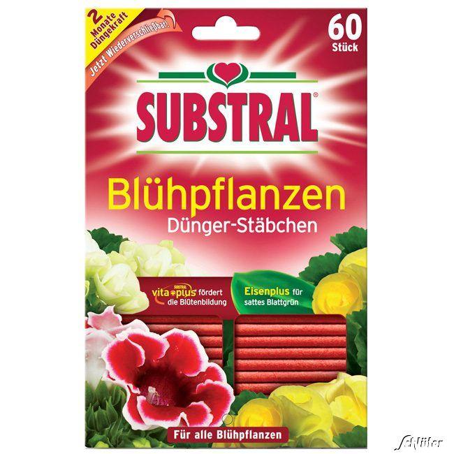 Substral® Dünge-Stäbchen für Blühpflanzen - 60 Stück
