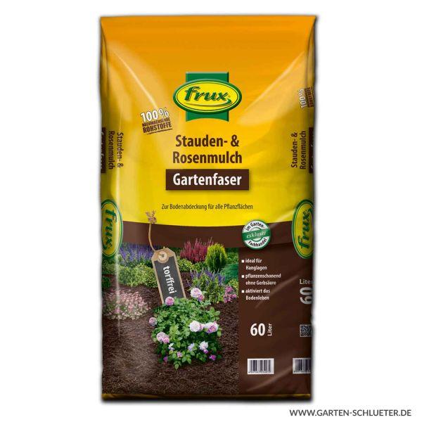 frux - Stauden- & Rosenmulch 60 Liter 1 Palette/42 Sack Bild