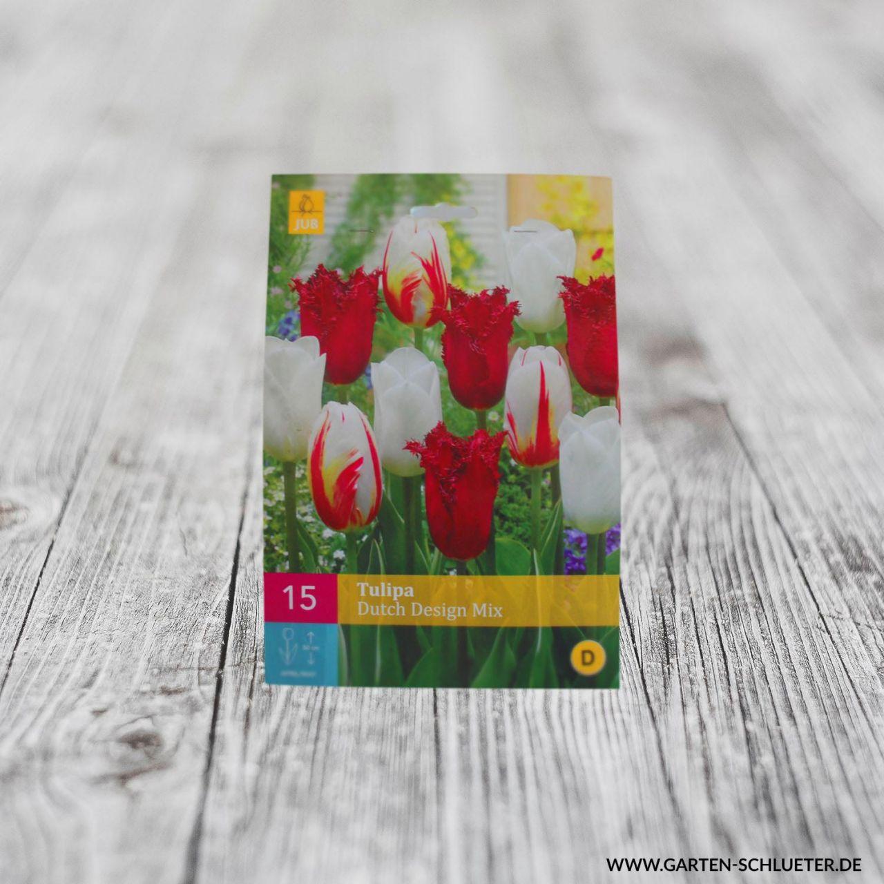 Tulpen Mischung 'Dutch Design Mix' - 15 Stück