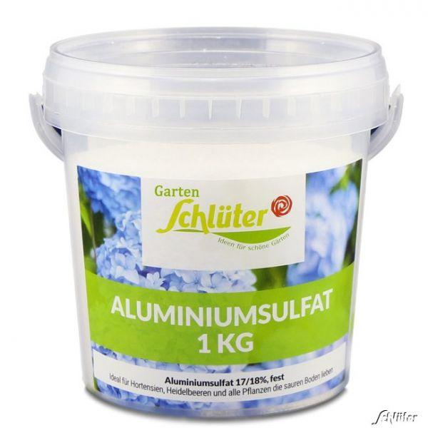 Schlüter's Aluminiumsulfat - 1 kg Blaue Hortensien durch sauren Boden Aluminiumsulfat - 1 kg Bild
