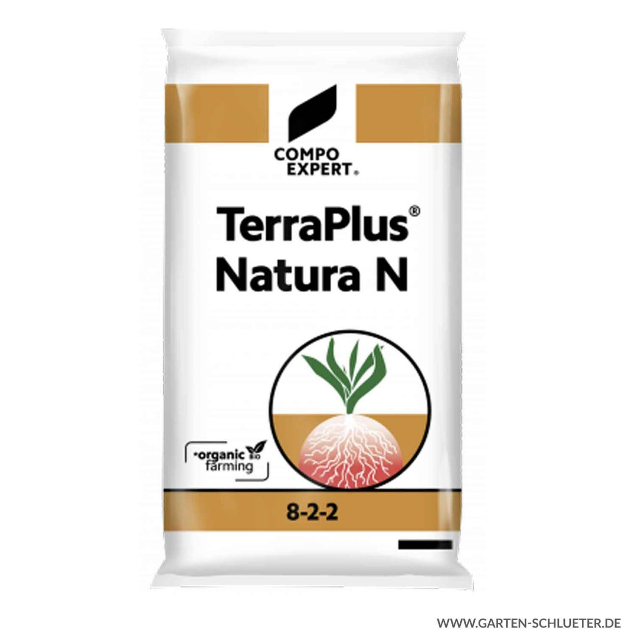 Rein organischer Stickstoffdünger - Compo Expert® TerraPlus® Natura N 8-2-2 -...