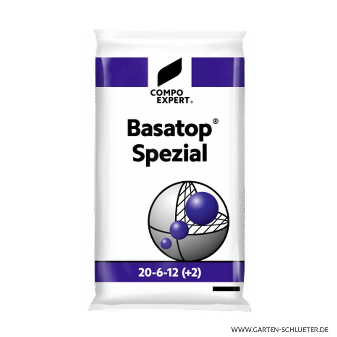 Stickstoffbetonter Langzeit Rasenvolldünger - Compo Expert® Basatop® Spezial ...