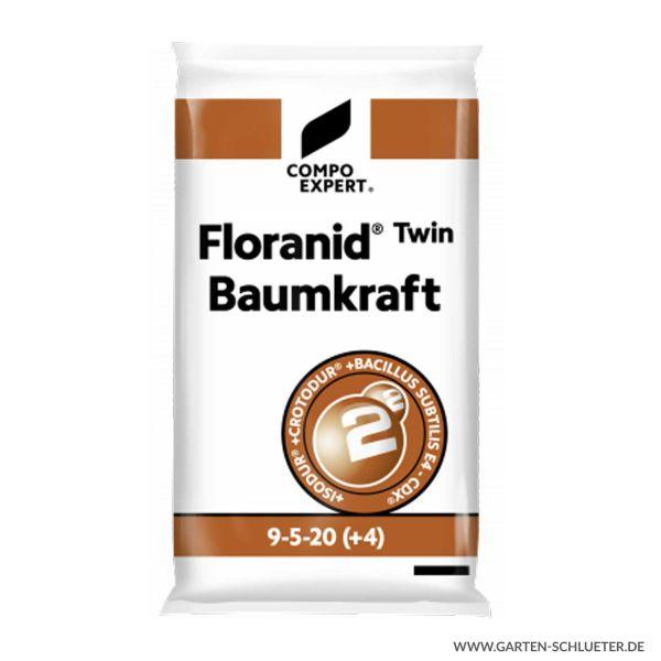 Langzeit Baum-Volldünger - Compo Expert® Floranid® Twin Baumkraft 9-5-20 (+4+9) +BS - 25 kg  Bild