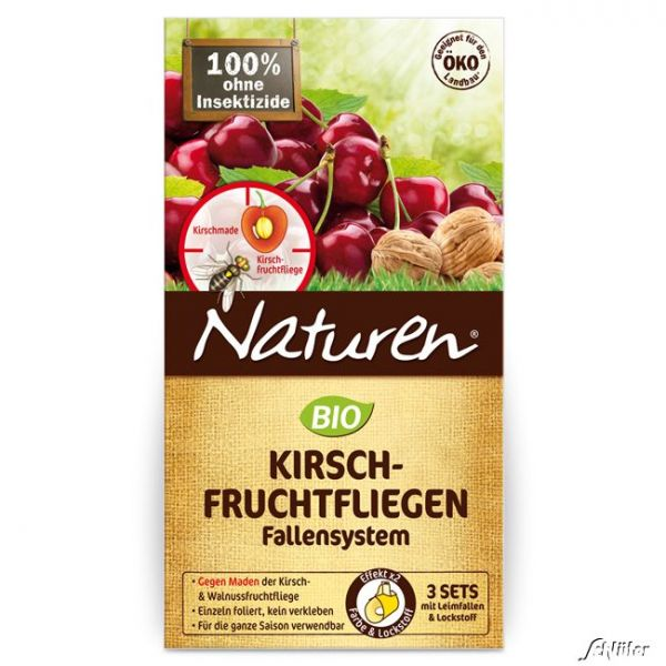 SUBSTRAL Celaflor Naturen® 'Kirschfruchtfliegen-Falle' (3 Sets) Bild