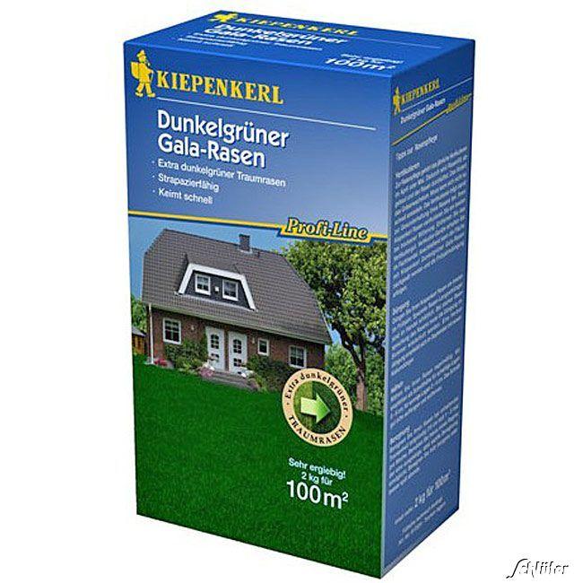 Profi-Line Dark Green Dunkelgrüner Gala-Rasen 2 kg