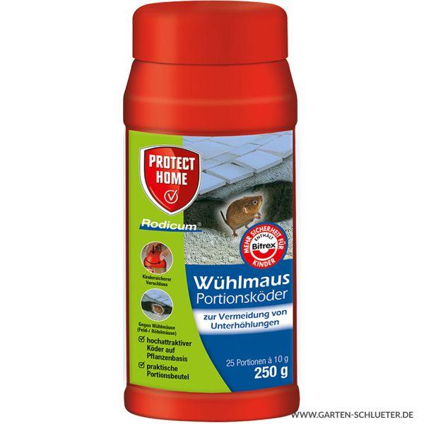 Protect Home Wühlmaus Portionsköder Rodicum 250 g Bild